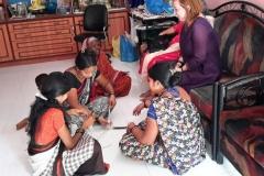 Women entrepreneurs at work